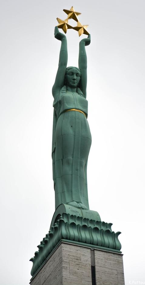Freedom statue Riga