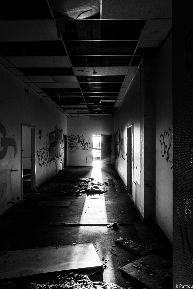 Abandonned hospital located in Belgium.