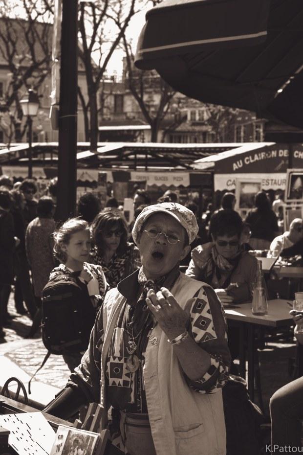 Place du Tertre - Montmartre - Paris