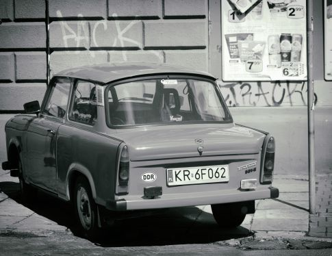 Trabant with DDR label