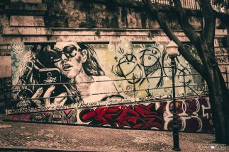 Graffiti street art