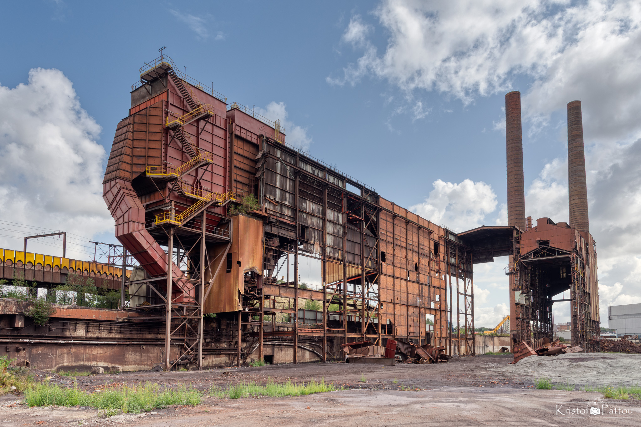 The elephant, a forgotten steel factory